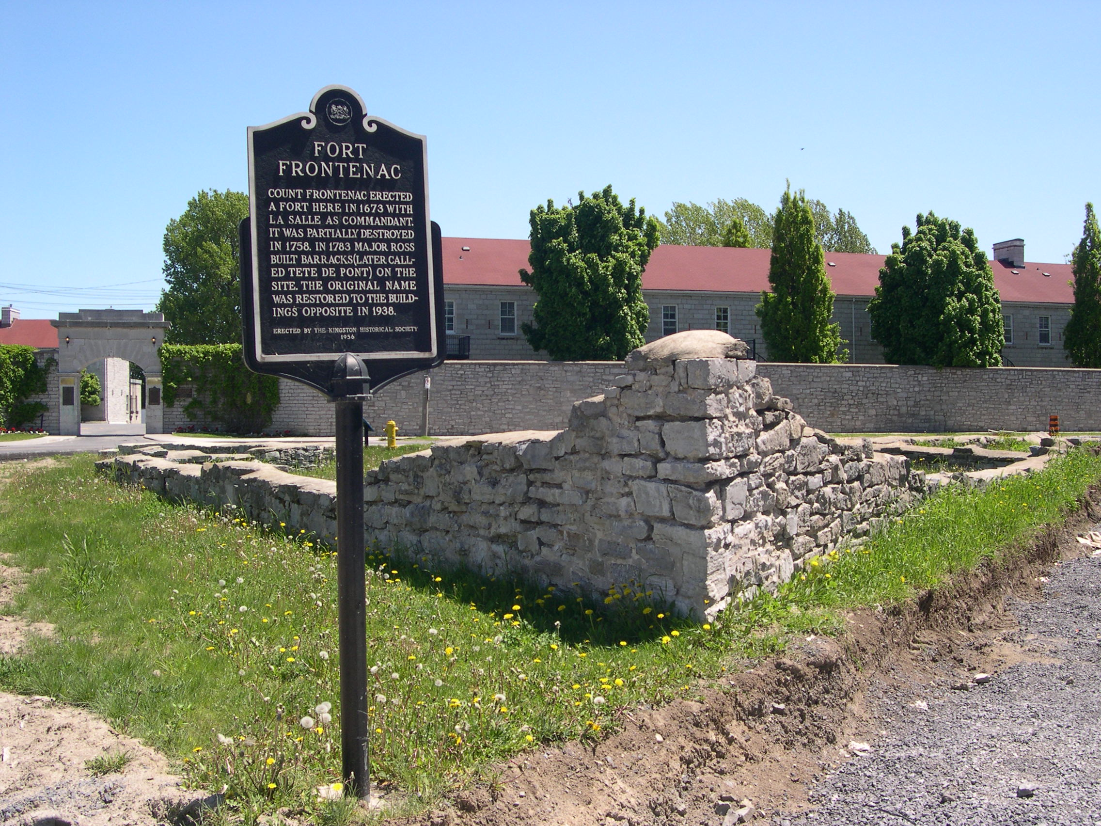 Fort Frontenac Kingston ON