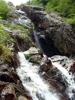 The Roaring Brook Falls